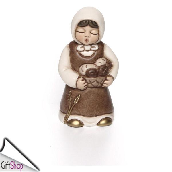 S2184-A83-01 giubileo donna con cesta di pane