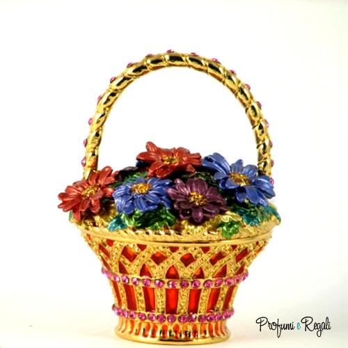 cesto di fiori 4053
