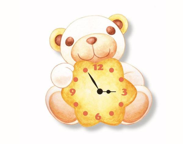 orologio legno teddy_