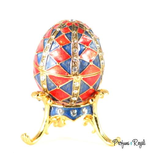 uovo rosso e blu 4011