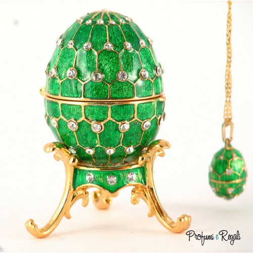 uovo verde con pendente 4030